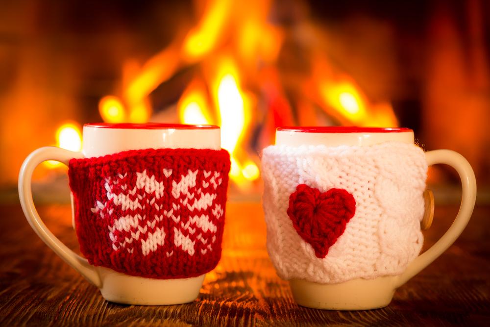 Weihnachts-Tassen Deko