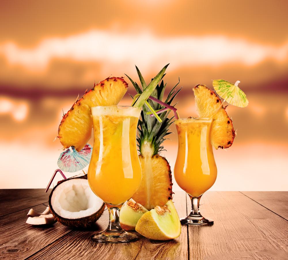 Cocktails für Sommerabende
