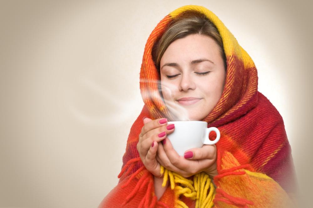 Hausmittel gegen Erkältung ist viel trinken