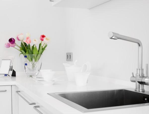 Kalk entfernen in der Küche